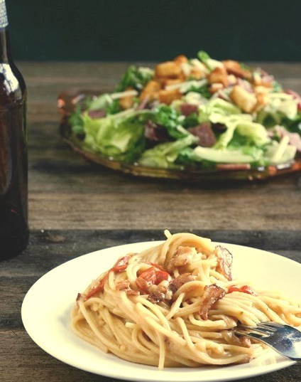 Recipe: Bacon & Beer Carbonara