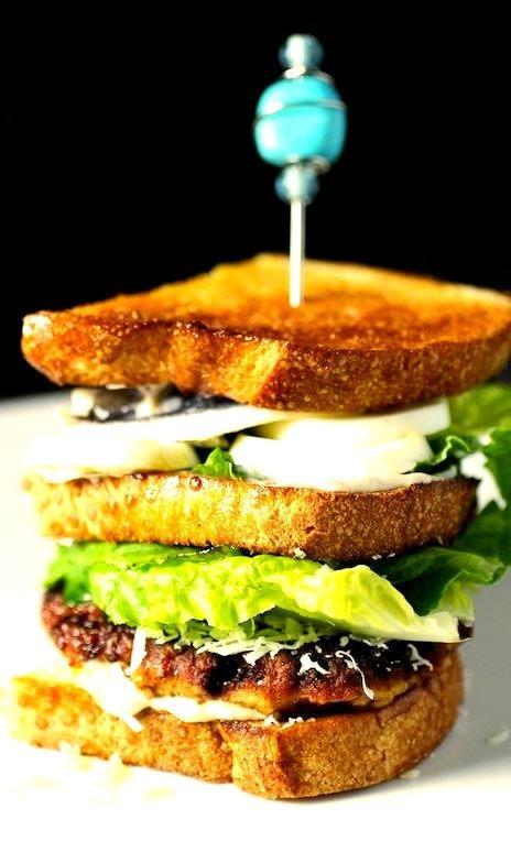 Caesar Cardini Chicken Club Sandwich